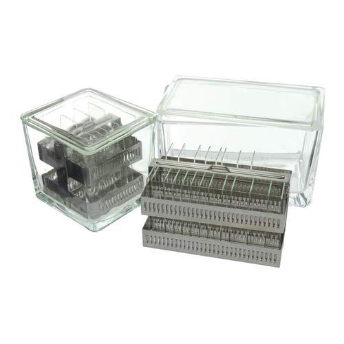 Cubeta para tinción tipo Hausser-Gedigk, para 60 portaobjetos LBG