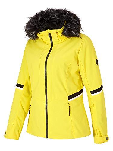 Ziener W Toyah Lady Gelb, Damen Regenjacke, Größe 42 - Farbe Yellow Power
