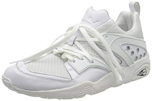 PUMA Herren Blaze of Glory Trinomic Sneaker, Weiß (White 359687-01), 44 EU