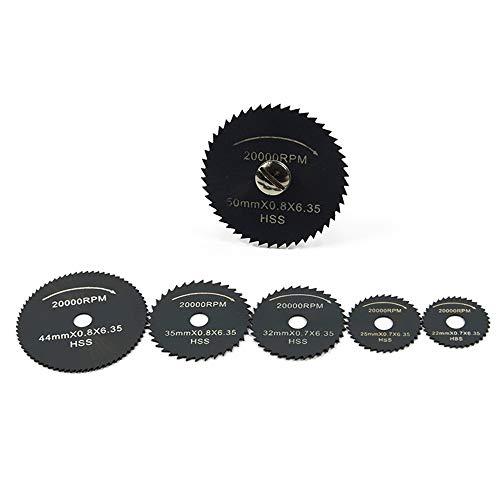 XJF Mini hojas de sierra circulares, corte de madera de las herramientas eléctricas, sistema de la muela abrasiva del disco
