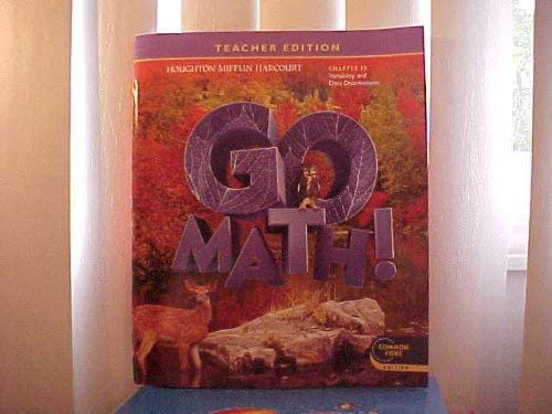 Go Math Grade 6 Teacher Edition Chapter 13 Variability Data Distributions Common Core