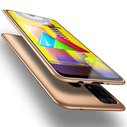X-level Samsung Galaxy M31 Hülle, [Guardian Serie] Soft Flex TPU Hülle Superdünn Handyhülle Silikon Bumper Cover Schutz Tasche Schale Schutzhülle für Samsung Galaxy M31 - Gold