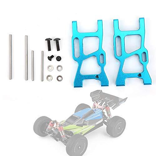Keen so 2 Stück vorderer unterer Querlenker, RC-Querlenker aus Aluminiumlegierung Passend für WLtoys 1/14 144001 RC Car(R1250B-Blau)