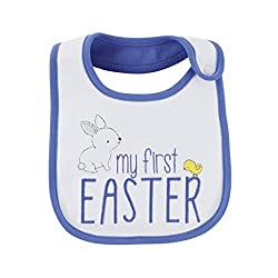 Easter basket ideas for unborn baby archives find your mom tribe babys first easter bib negle Gallery