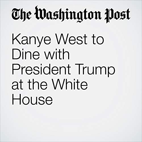 Kanye West to Dine with President Trump at the White House copertina