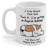 English Bulldog Gifts For Women Dog Mom...