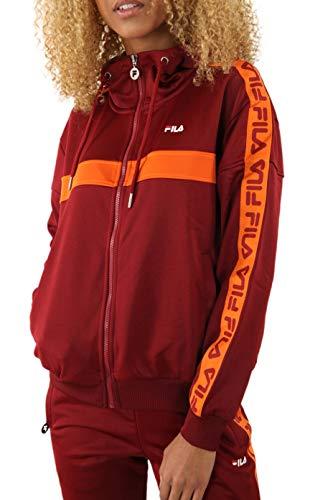 Fila Teela Track Hooded Zip, Giacca sportiva - S