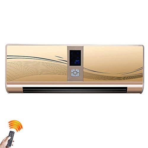 Ventilador eléctrico de cerámica oscilante portátil de cerámica de 2.5KW con 3 configuraciones de Calor y configuración de Ventilador Fresco, Temporizador de 7.5 Horas, prevención de Accidentes