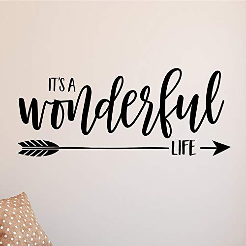 Its A Wonderful Life Vinyl Wall Decal Home Decor