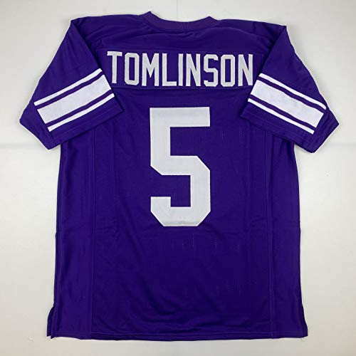 Unsigned LaDainian Tomlinson TCU Purple Custom Stitched College Football Jersey Size Men's XL New No Brands/Logos