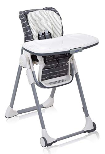 Graco Swift Fold Highchair, with 9 Height Adjustments and One-hand Compact...