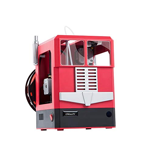 HZYYZH 3D Printer, Entry-Level Printer, Art Design, The Best Gift for Family Creative Children, Develop Stereo Thinking,Red
