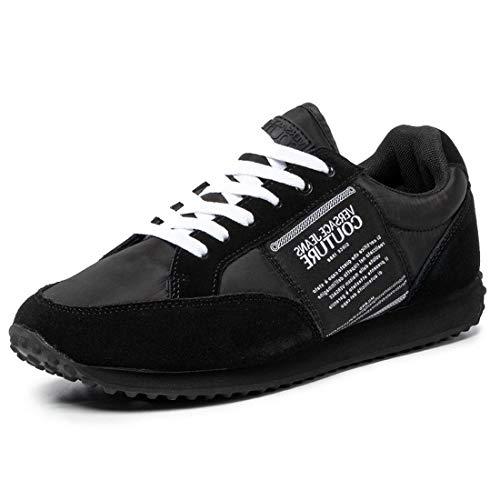Versace Jeans Couture Hombre Etichetta Zapatillas Nero 42 EU