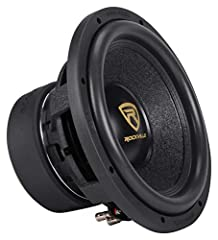 """Rockville W12K9D2 K9 Series 12"""" Dual 2-Ohm Car Subwoofer. Peak Power Handling: 4000 Watts. Program Power Handling: 2000 Watts. CEA Rated RMS Power Handling: 1000 Watts. 3"""" 4-Layer Black Aluminum Voice Coils Wound with OFC (100% Copper) Wire Made in J..."""