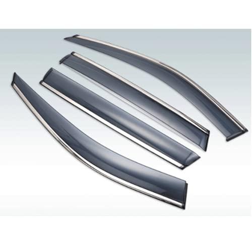 para Subaru Legacy Sedan, Quinta generación 2009-2014, 4 uds, Visera Exterior de plástico, persianas de ventilación, Ventana, Deflector de protección contra la Lluvia y el Sol