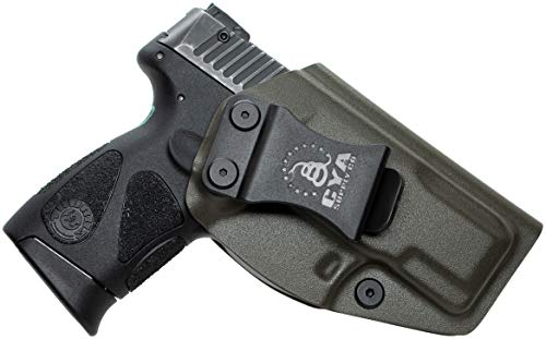 CYA Supply Co. Fits Taurus G2C & PT111/PT140 Millennium G2 Inside Waistband Holster Concealed Carry IWB Veteran Owned Company (OD Green, 075- Taurus G2C & PT111/P1140 Millennium G2)