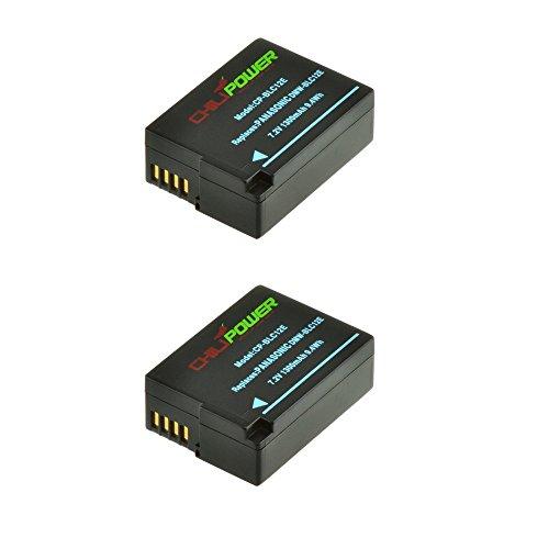 2x Chili Power DMW-BLC12, DMW-BLC12E de, DMW-BLD12, DMW-BLC12PP de batería Recargable (1300mAh) para Panasonic Lumix DMC-FZ200, DMC-G5, DMC-G6, DMC-ZR1DMC-G6K, GH2