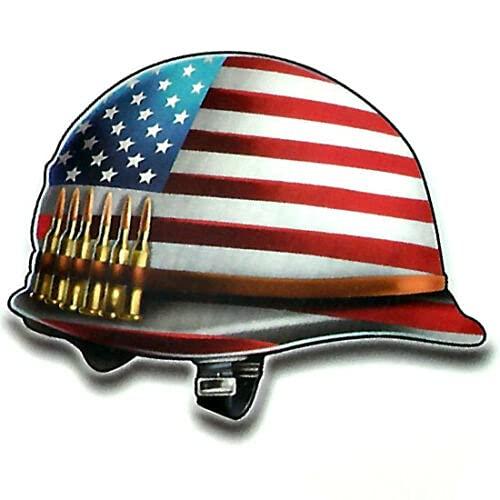 American Columbus Mall Louisville-Jefferson County Mall Flag Army Helmet 3.5