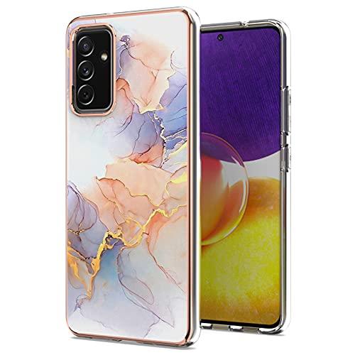 LJP Funda Samsung Galaxy A82 5G, Anti-caída Anti-arañazos Silicone Suave Carcasa, Soft Gel TPU Case Protección Antigolpes Cover para Samsung Galaxy A82 5G, Soporte de Carga Inalámbrica
