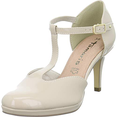 Tamaris Damen Pumps Woms Slip-on 1-1-24433-23/253 beige 719246