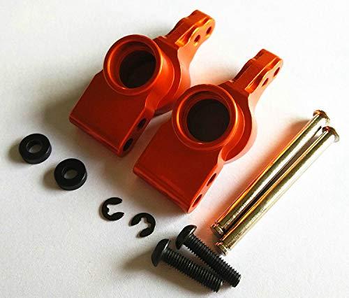 CrazyRacer H-P-I BULLET3.0 MT ST Ken Block WR8 Flux Upgrade Parts Aluminum Alloy Rear Knuckle Arm-1PR Set for 101208 Orange