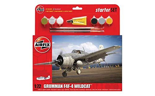 Airfix Grumman F4F-4 Wildcat Kit Modelo plástico de avión