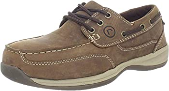 Rockport Works Men's Sailing Club 3 Eye Tie Boat Shoe