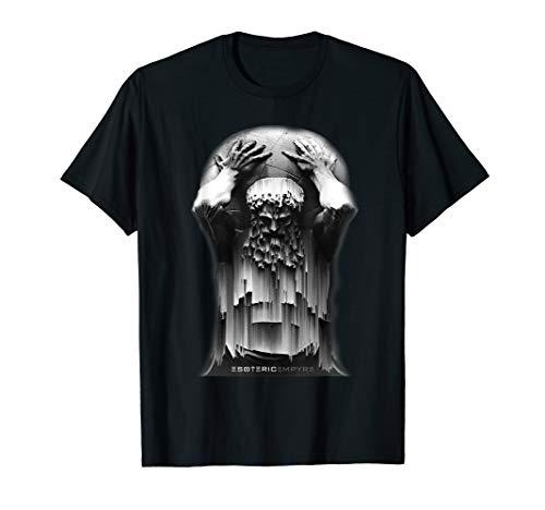 Atlas Shirt Titan God Glitch Greek Mythology