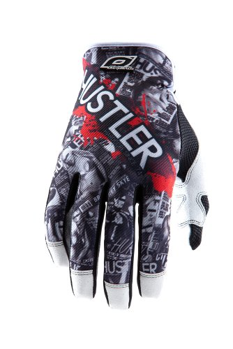 O'NEAL Unisex Handschuhe Jump Hustler, Schwarz, Medium, 0385JH-0