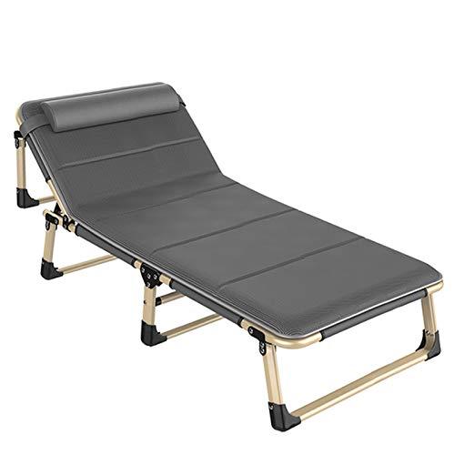 CHENNA Zero Gravedad Tumbona Camping jardín sillas de Cubierta reclinable Plegable reclinación Impermeable tumbonas para al Aire Libre Interior