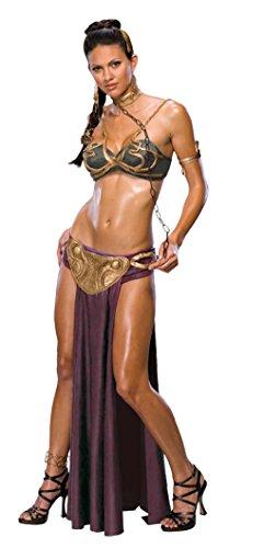 Star Wars Jabba's Prisoner Sexy Princess Leia Costume