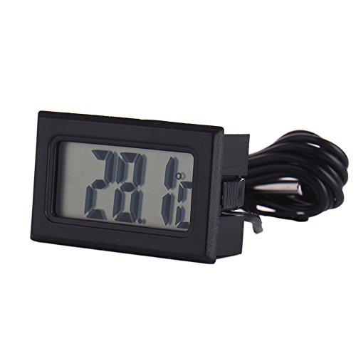 Samber Kühlschrank und Fisch Tank Elektronische LCD Digital Thermometer schwarz