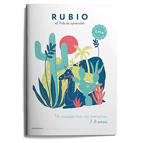 Mi cuaderno de verano RUBIO. 7-8 años: 5