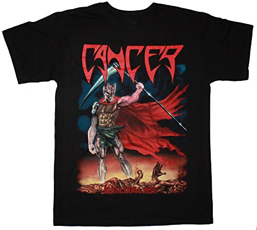 Cancer Death Shall Rise 1991 Disincarnate Testament New Black T-Shirt