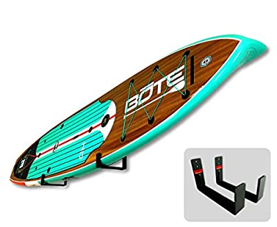StoreYourBoard Naked SUP, The Original Minimalist Paddleboard Wall Storage Rack (Renewed)