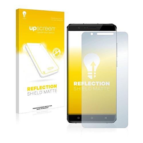 upscreen Entspiegelungs-Schutzfolie kompatibel mit Oukitel U16 Max – Anti-Reflex Bildschirmschutz-Folie Matt