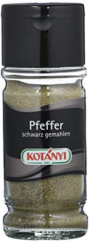 Kotanyi Pfeffer Schwarz gemahlen, 4er Pack (4 x 50 g)