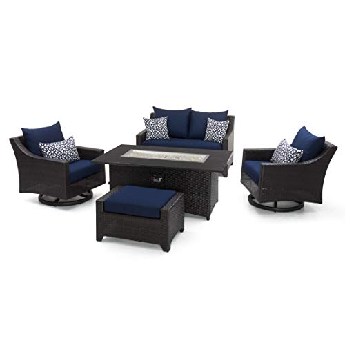 RST Brands Deco 5 Piece Love and Motion Club Set Navy