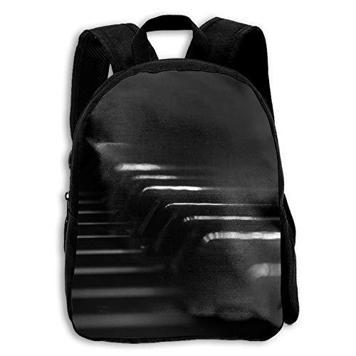 ADGBag Children's Music Keyboard Wallpapers Backpack Schoolbag Shoulders Bag for Kids Kinder Rucksack