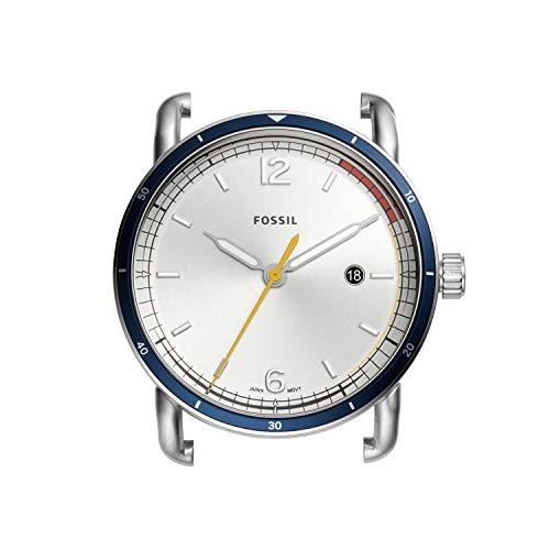 Fossil C221052 - Reloj de Cuarzo para Hombre, Acero Inoxidable, Color Plateado