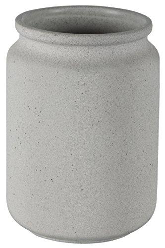 Spirella Zahnputzbecher Zahnbürstenhalter Cement 8x11 cm Grau