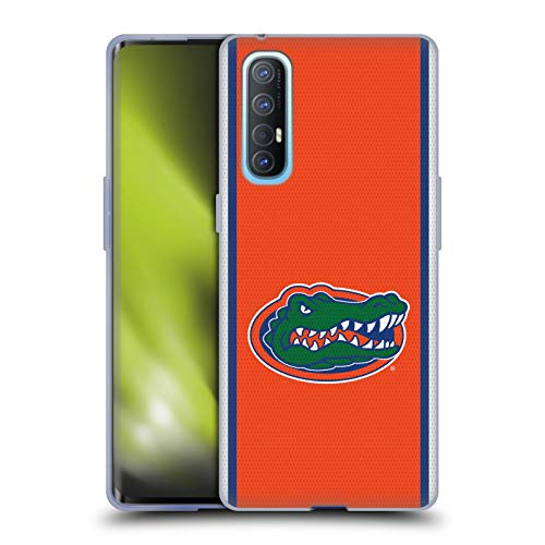 Head Case Designs Officially Licensed University of Florida UF Football Jersey Soft Gel Case Compatible with Oppo Find X2 Neo