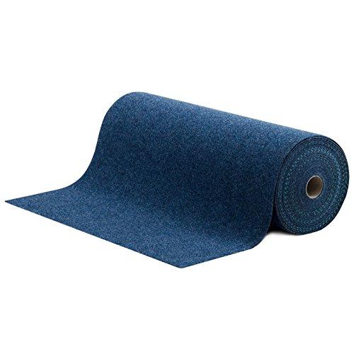 Rasenteppich/Kunstrasen Farbwunder Royal - Zuschnitt nach Maß - denim blau - 200x850cm