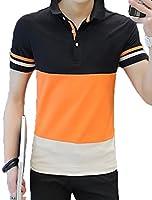 Heaven Days(ヘブンデイズ) ポロシャツ ゴルフシャツ Tシャツ ストライプ メンズ 1805D0705