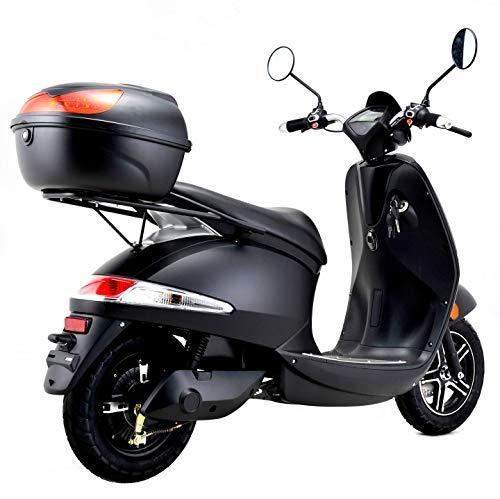 E-Mofa Elettrico Li E-Motorroller in schwarz Bild 3*