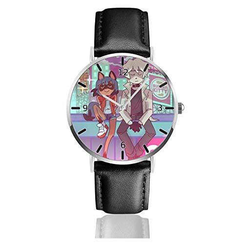 Los niños Miran Reloj Pulsera niño Historieta 3D Impermeable Animal BNA Pantalla Redonda 38mm Batería de botón Poder Unisex Watch