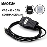VAG K+CAN Commander 3.6 OBD2 Diagnostic Interface Cable For V/AD VAG Diagnostic Tool Vag K Can Commander 3.6