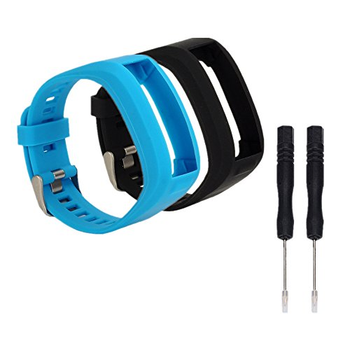 WEINISITE Silikon Armband Ersatzarmband mit Montagewerkzeug für Garmin Vivosmart HR (#3)