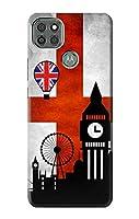 JP2979M9P イングランドサッカー England Football Soccer Flag Motorola Moto G9 Power ケース