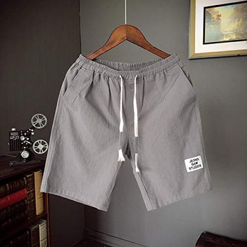 Shorts De Mode Hommes Été Boardshorts Respirant Mâle Shorts Décontractés Confortable Grande Taille Marque Fitness Hommes Sport Shorts 5XL Gris